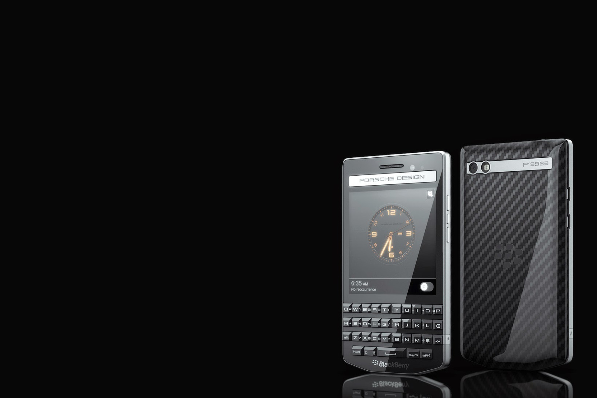 Blackberry Porsche Design Series Studio F A Porsche Premium Design Services