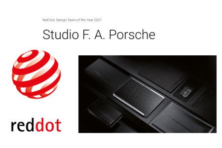 Red Dot: Design Team of the Year 2021: Studio F. A. Porsche